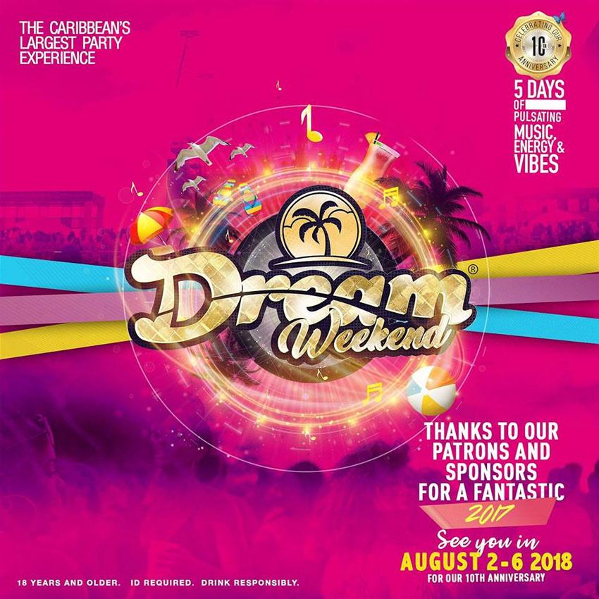NiteLifeBuzz com - Dream Weekend 2018: The 10th Anniversary