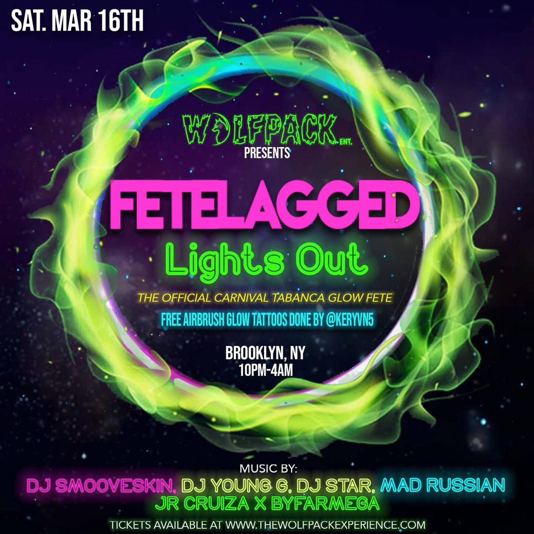 NiteLifeBuzz com - Wolfpack Ent presents Fetelagged: Lights Out 2019