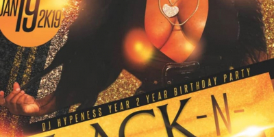 DJ Hypeness Year 2 Year Birthday Party - BLACK N GOLD Celebrity Edition