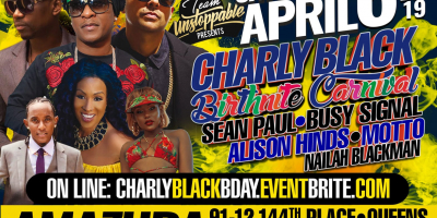 Charly Black Birthday Carnival 2019
