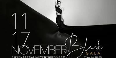 November in Black Gala: Viva La Glam