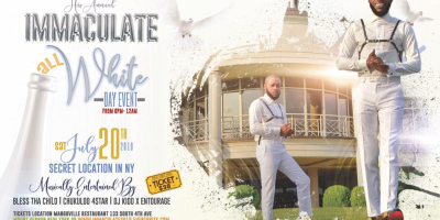 Jerry Bling presents IMMACULATE 2019 All White Day Event