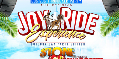 Joy Ride 80s & 90s Throwback Party: The Outdoor Day Party Edition