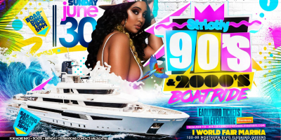The Annual STRICTLY 90s & 2000s BOAT RIDE