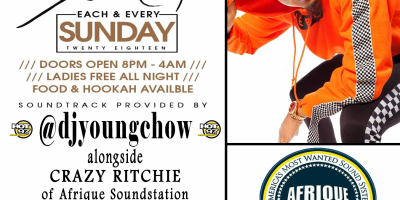 STUSH SUNDAYS at NO LIMITS LOUNGE w/ DJ YOUNG CHOW